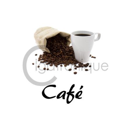 E liquide café