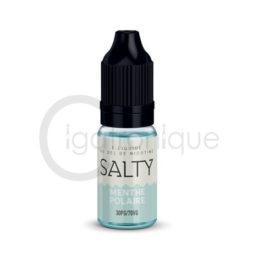 E liquide menthe polaire salty