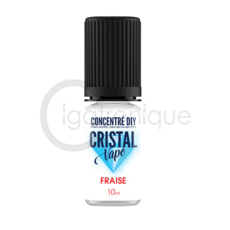 Arôme fraise cristal vape