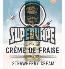 Arôme crème de fraise supervape